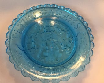 Thornton W. Burgess Society Pairpoint Cup Plates Green Briar Series Peter Rabbits Party