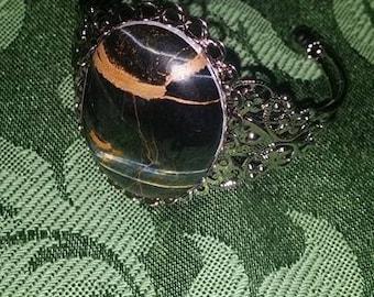 Tiger's Quartz Cuff Bracelet