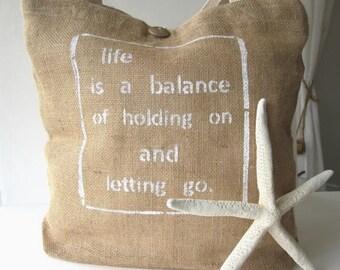 Rumi Yoga Bag Tote, BURLAP Eco Friendly Market Tote Bag, Natural Jute Yoga Tote, Burlap Shoulder Bag, Bohemian Tote Bag, Beach Bag Tote