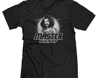 Who's the Master Sho Nuff The Last Dragon 80's Kung Fu Movie Bruce Lee Roy t-shirt tee