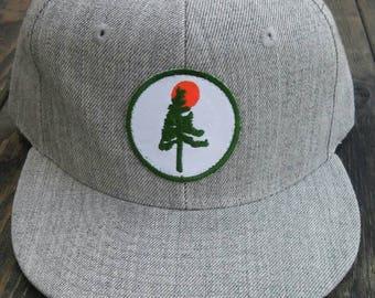 Pine Sun Snapback