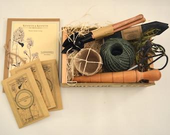Herb Lovers Gardening Box // Herb Garden // Herb Planter // Gardener Gift // Gardening Gift