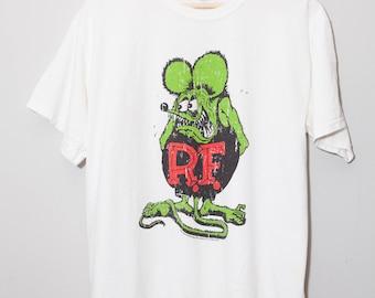 Vintage Style Rat Fink Ed Roth Shirt | Size Medium