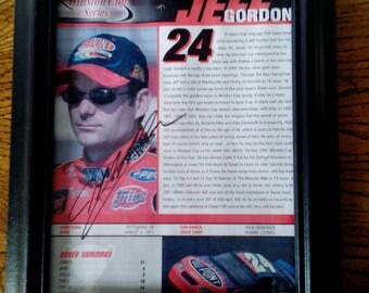 NASCAR Driver Autograph - Jeff Gordon