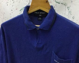 SALE 25% Vintage 90s Polo Sport Ralph Lauren Shirt Hip Hop Swag Size M