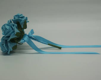 Wedding Posy - Perfect for Bridesmaids ( Turquoise )