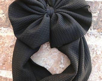 Black Head Wrap