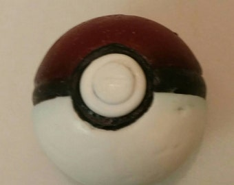 Pokeball Inspired Soap with Toy Inside