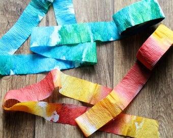 Watercolor Streamers