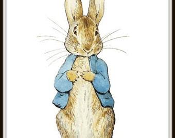 Peter Rabbit Digital Print
