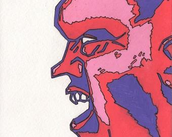 Chiseled Anger