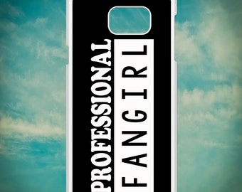 Professional Fangirl for Samsung Galaxy Note 3, Samsung Galaxy Note 4, Samsung Galaxy Note 5, Electronic Phone Case