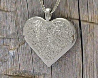 Personalized Fingerprint Heart