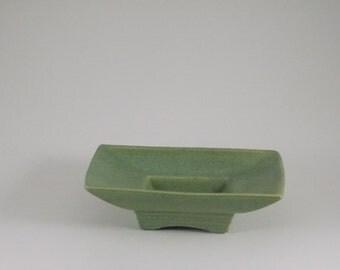 McCoy 1802 Art Pottery Japanese Style Wide Vase/Planter/Dish