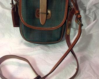 Polo shoulder strap purse