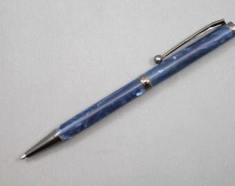Blue Acrylic Pen     (33)