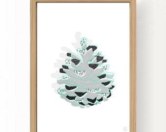 Cards Pine Cone