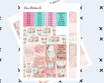 Planner Girl // Printable Stickers // Happy Planner