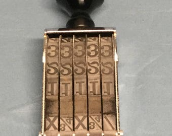 Pullman 5 Band Number Stamp XCPN