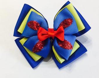 Snow White Hair Bow