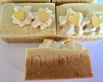 Banana Soap, Handmade Soap, Coconut milk soap,Palm Free, Vegan
