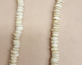 "Genuine Puka Shell Necklace 70""s David Cassidy inspired"