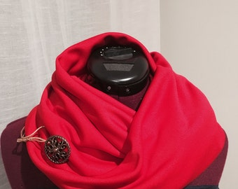The Red Infinity Scarf
