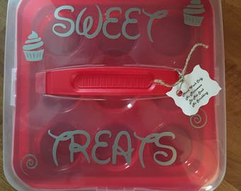 Personalized Cupcake Carrier