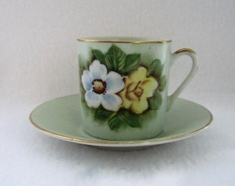 Japan-Lefton Cup and Saucer-SL 510