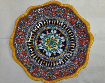 Beautiful Deruta Serving Bowl
