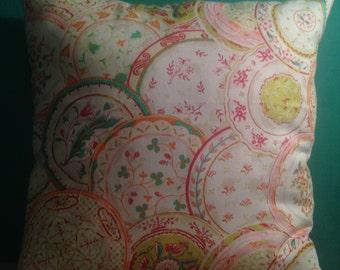 Gypsy Floral Multicolor Pillow 16X16
