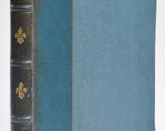 The love letters of Abelard and Heloise (blue leather binding)