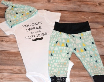 You Can't Handle This Much Cuteness Onesie, Baby clothes, Cute Baby Clothes, Baby Clothes Online, Newborn baby clothes, Newborn baby boys