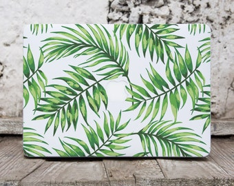 Tropical Leaves Macbook Sticker Floral Macbook Stickers Macbook Air Skin Floral Laptop Mac Air Macbook Pro Case Macbook Case 12 Inch 095