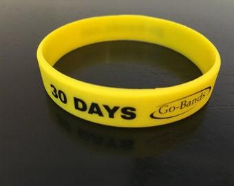 Go Bands, motivational wrist bands