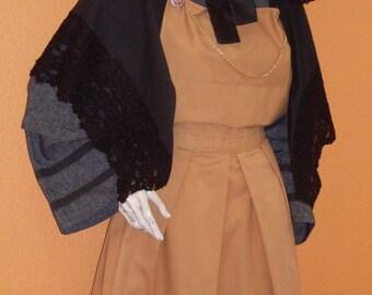 Bresse woman costume, ref: B3, size 44/46.