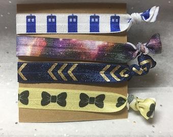 Doctor Who Galaxy Pack Hair Ties