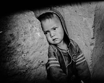 little boy, moody, black and white, cute, photo for your wall, contemporary