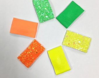 Neon Snap Clips