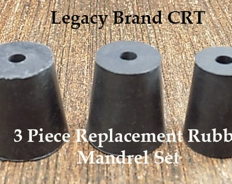 Coin Ring Polishing Replacement Rubber Mandrel Cones