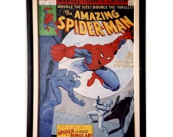 The Amazing Spider Man #200 - January - 1980, Buglar, Comics Cover Art, Oil on Canvas 20 x 30 in