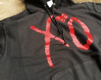 XO THE WEEKND Hoodie the weekend concert Hooded theweekend -Unisex Hoodie- Concert Hoodie