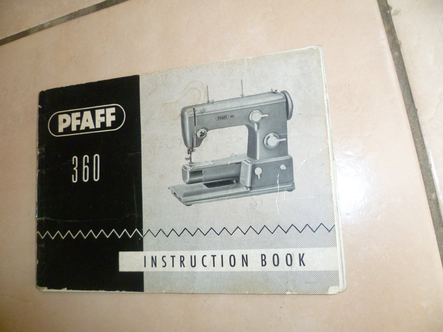 pfaff 360 sewing machine instruction manual from zionvintagecrafts on etsy studio. Black Bedroom Furniture Sets. Home Design Ideas