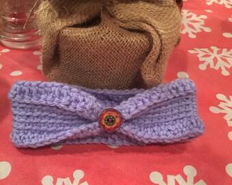 Lavender BABY Headband Ear Warmer