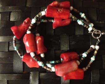 Red Wood Bracelet