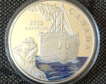 Titanic memorable coin