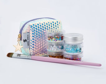 Ultimate Holographic Collection | Chunky Festival Glitter for Face & Body