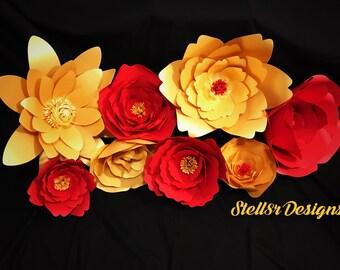 PAPER FLOWERS DIY Kit
