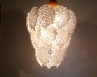 A very beautiful Vintage Murano glass chandelier