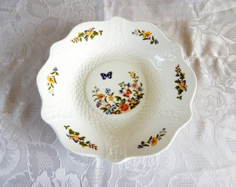 Aynsley Cottage Garden Scalloped Serving Plate